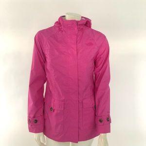 The NorthFace HyVent zip pockets hoodie jacket SP